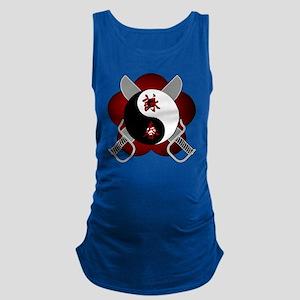 wc-yin-yang-swords Maternity Tank Top