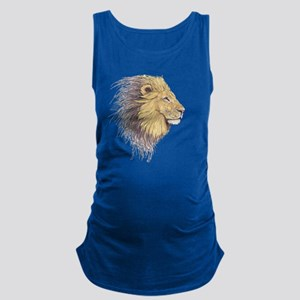Lions Head Maternity Tank Top