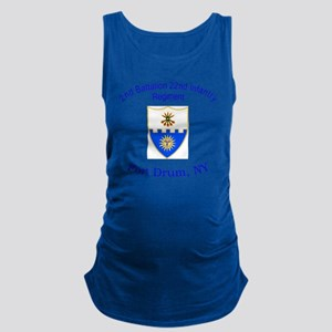 2nd Bn 22nd  inf Maternity Tank Top