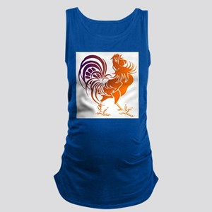 Rooster Maternity Tank Top