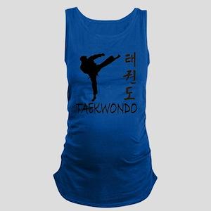 taekwondo Maternity Tank Top