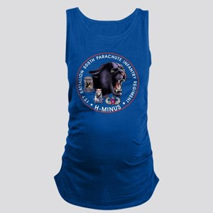 Panther v2_1st-505th - White Maternity Tank Top