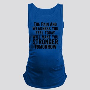 stronger-tomorrow Maternity Tank Top