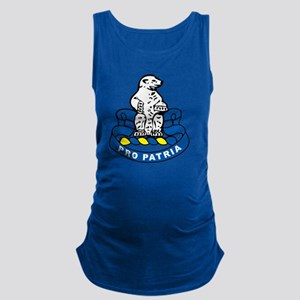 4TH bn 31ST INF Maternity Tank Top
