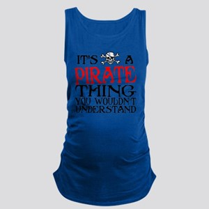 PIRATE_THING2 Maternity Tank Top