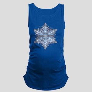 Snowflake Designs - 023 - trans Maternity Tank Top
