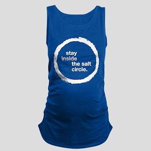 Stay Inside the Salt Circle Maternity Tank Top
