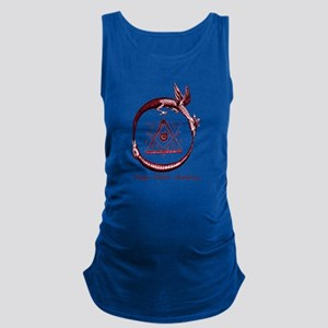Alchemical Ouroboros Maternity Tank Top