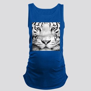 Realistic Tiger Painting Maternity Tank Top
