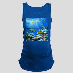 Sea Life Maternity Tank Top