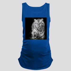 White Tiger Maternity Tank Top