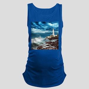 Lighthouse Maternity Tank Top