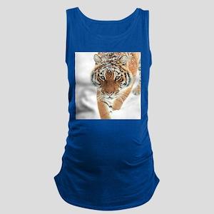 Snow Tiger Maternity Tank Top