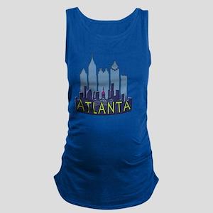 Atlanta Skyline Newwave Cool Maternity Tank Top