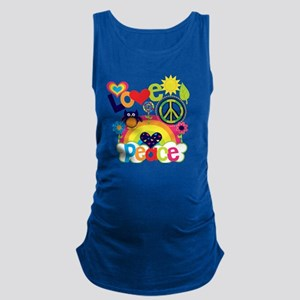 Love and Peace Maternity Tank Top