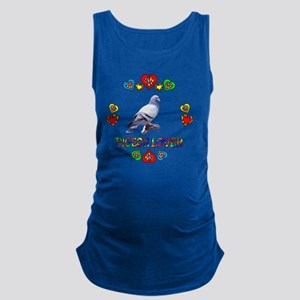 Pigeon Lover Maternity Tank Top