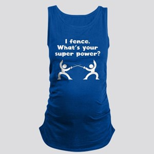 I Fence Super Power Maternity Tank Top