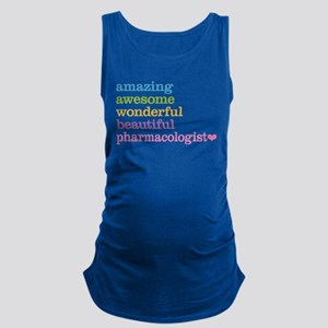 Pharmacologist Maternity Tank Top