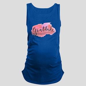 Gratitude Maternity Tank Top