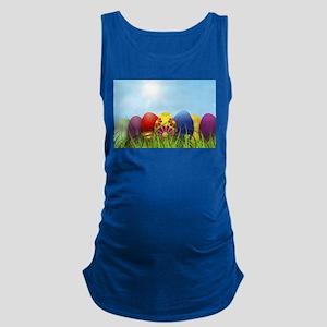 easter eggs Maternity Tank Top