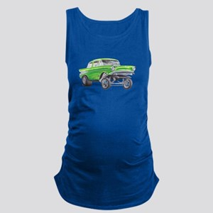57 Green Gasser  Maternity Tank Top