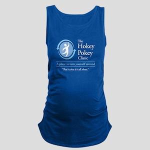The Hokey Pokey Clinic Maternity Tank Top