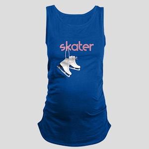 Skaters Skates Maternity Tank Top