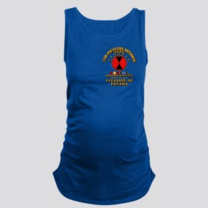 Just Cause - 7th Infantry Divis Maternity Tank Top