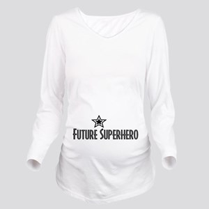 Future Superhero Long Sleeve Maternity T-Shirt