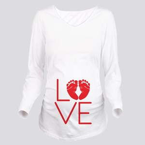 Love Long Sleeve Maternity T-Shirt