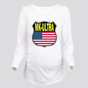 PROJECT MK ULTRA Long Sleeve Maternity T-Shirt