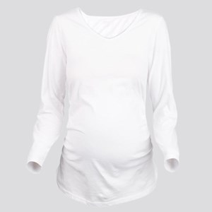 TKD Long Sleeve Maternity T-Shirt