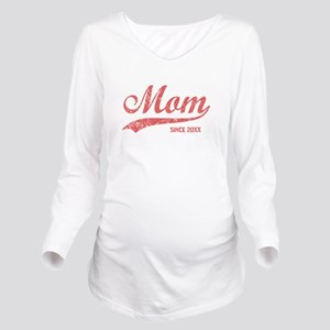 Personalize Mom Sinc Long Sleeve Maternity T-Shirt