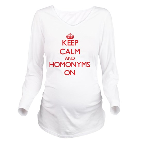 Keep Calm and Homonyms ON
