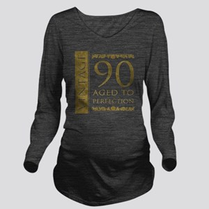 Fancy Vintage 90th B Long Sleeve Maternity T-Shirt