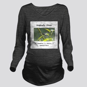 Dragonfly Medicine Gifts Long Sleeve Maternity T-S