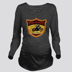 speedsters2-T Long Sleeve Maternity T-Shirt