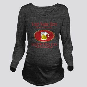 Your Brewing Company Long Sleeve Maternity T-Shirt