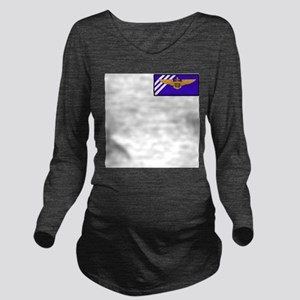 vf143S Long Sleeve Maternity T-Shirt