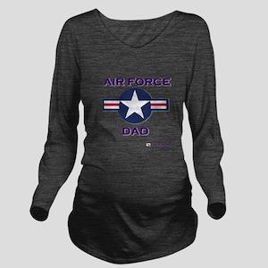 AIR FORCE DAD Long Sleeve Maternity T-Shirt