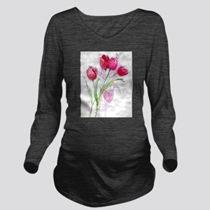 Tulip2a Long Sleeve Maternity T-Shirt
