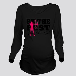 Be The Best... Shoo Long Sleeve Maternity T-Shirt