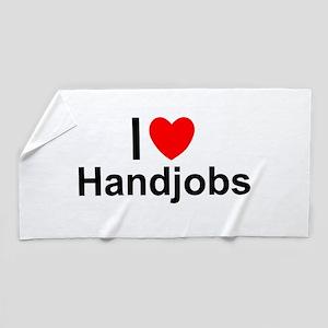 Handjob Beach Towels Cafepress
