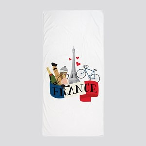 French Flag Beach Towels Cafepress