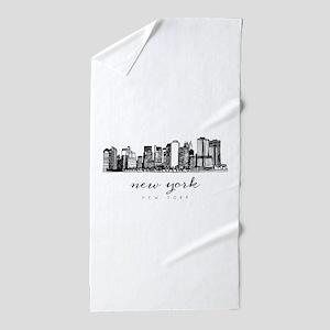 Ny Beach Towels Cafepress