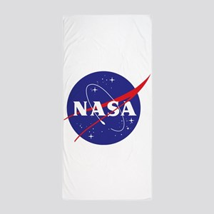 NASA Logo Transparant Beach Towel