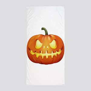 Halloween - Jackolantern Beach Towel