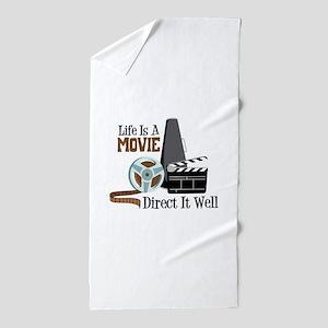 Movie Beach Towels Cafepress