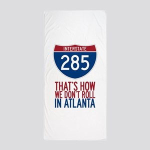 Traffic Sucks on 285 in Atlanta Georgia Beach Towe