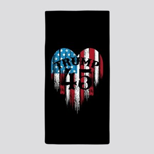 Trump America Beach Towel